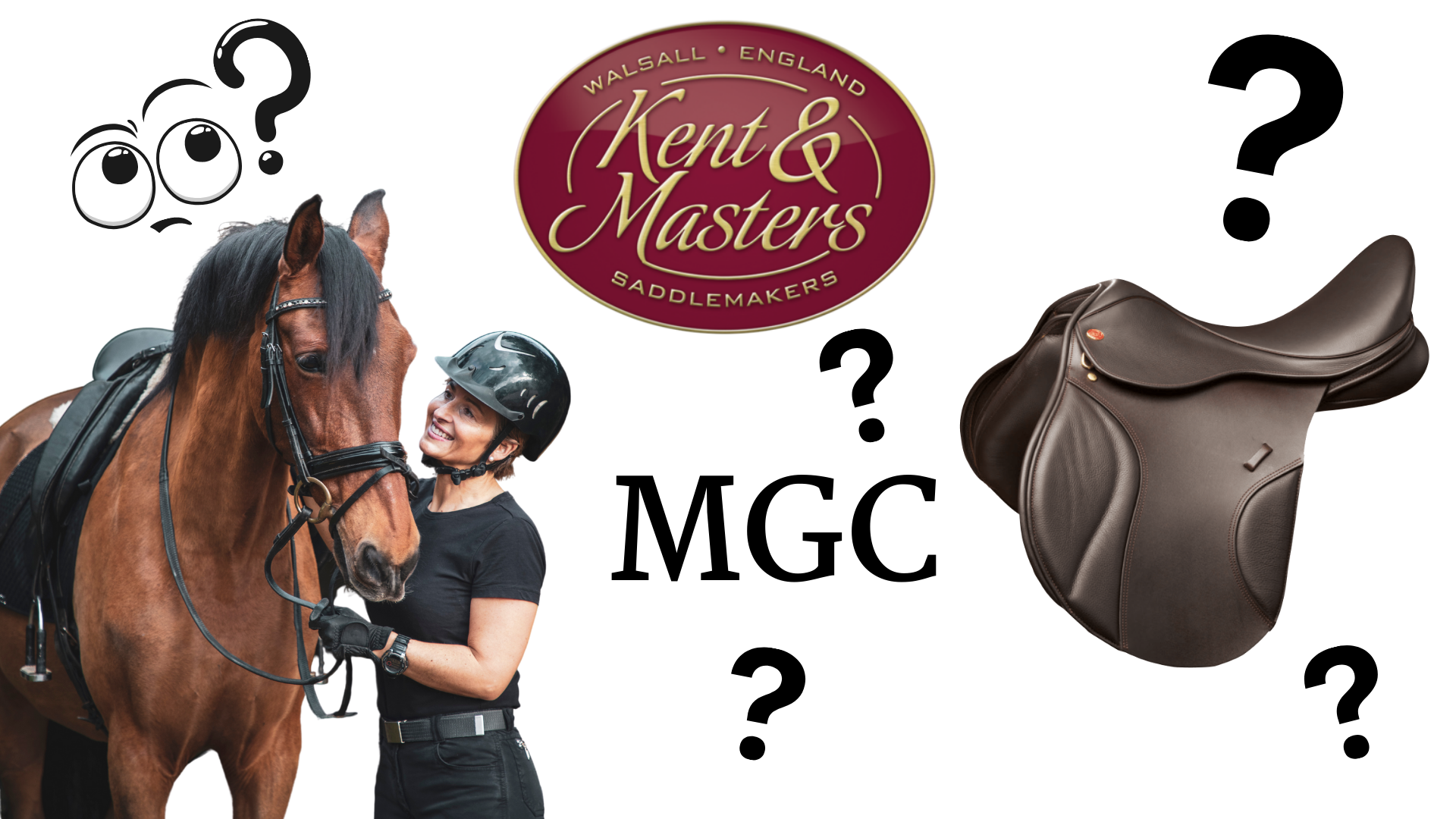 What is a Kent and Masters MGC Saddle?
